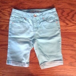 Kids Justice Light Blue Bermuda Shorts